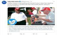 دست ترامپ دوباره رو شد! +عکس جنجالی
