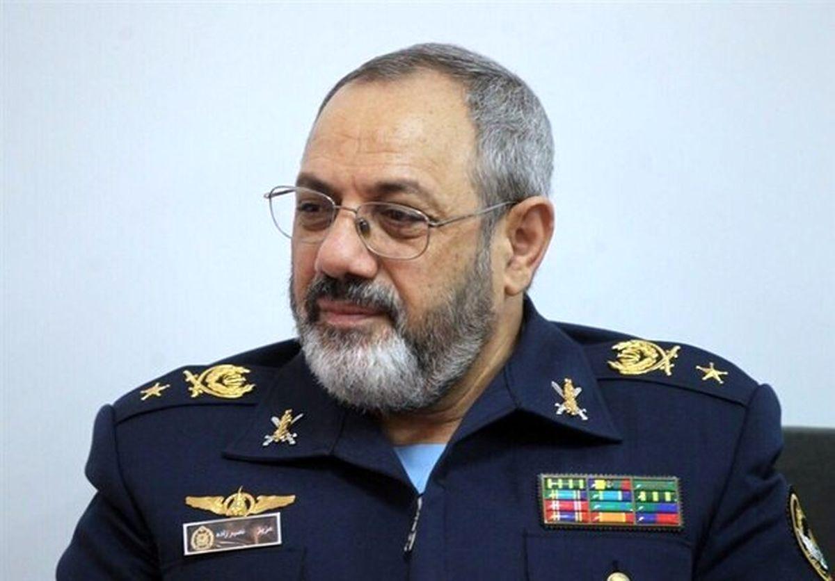 امیر نصیرزاده: خلبانان نیروی هوایی آماده هستند