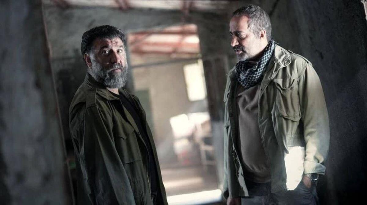 تصویری از علی انصاریان در آخرین فیلمش