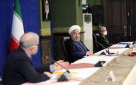 نگاه پر از خشم روحانی به وزیرش+ عکس