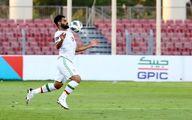 صحنه ای از بازی ایران و بحرین که در تلویزیون پخش نشد +فیلم