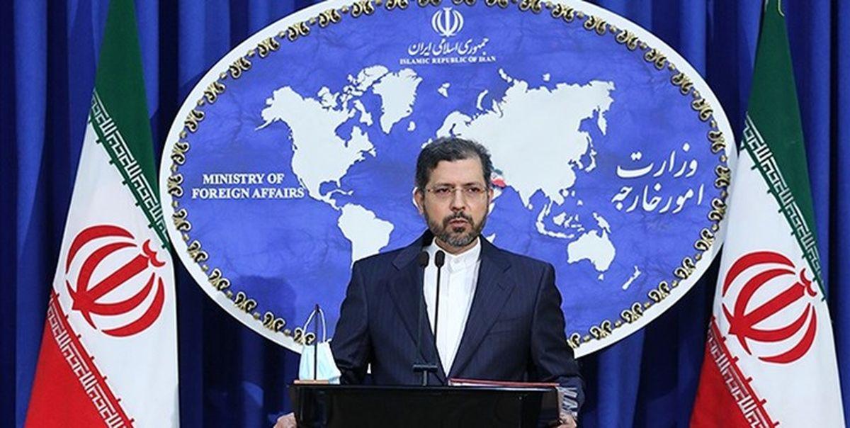 واکنش تهران به سرکوب معترضان در بریستول انگلیس