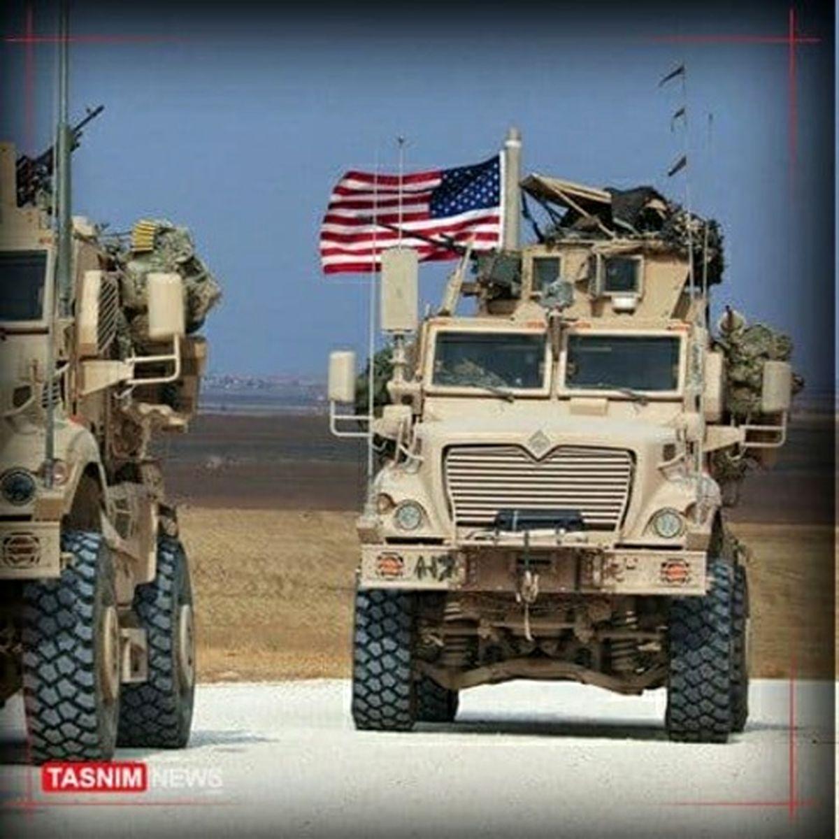 کاروان ارتش آمریکا در عراق هدف قرار گرفت