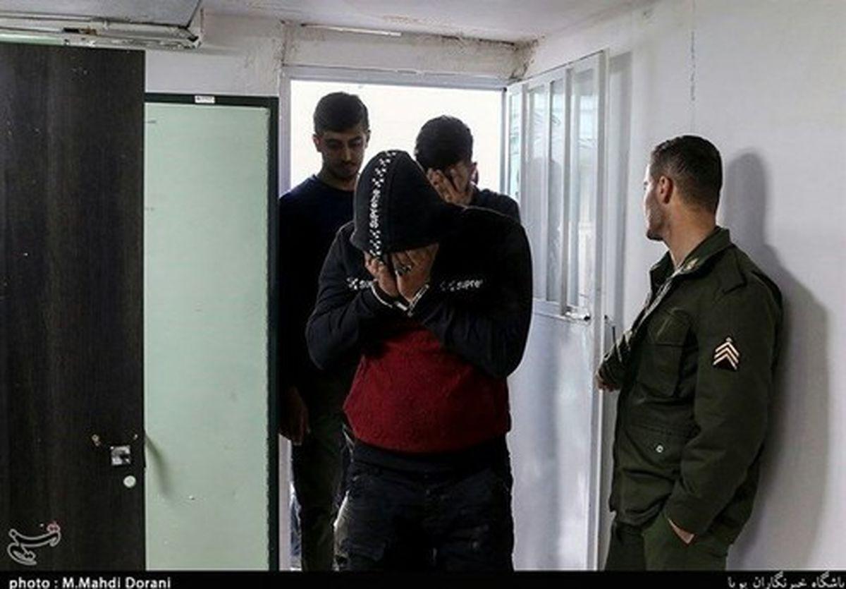 شهادت مأمور پلیس حین دستگیری سارقان مسلح +عکس