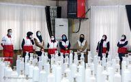 تصاویر: آیین اهدای ۹۹۹ کپسول اکسیژن