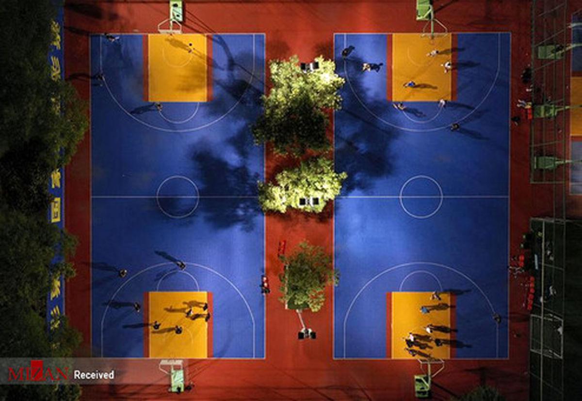 تصاویر: نمای هوایی از زمینهای بازی در چین