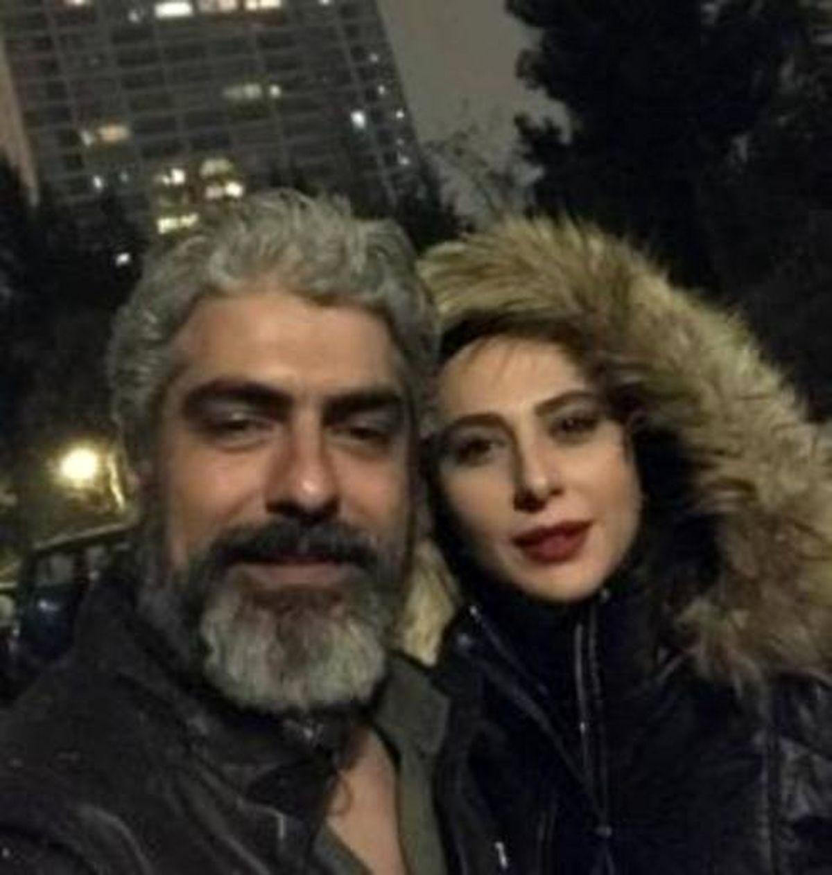 بازیگر معروف ازدواج مجدد مهدی پاکدل را لو داد +عکس