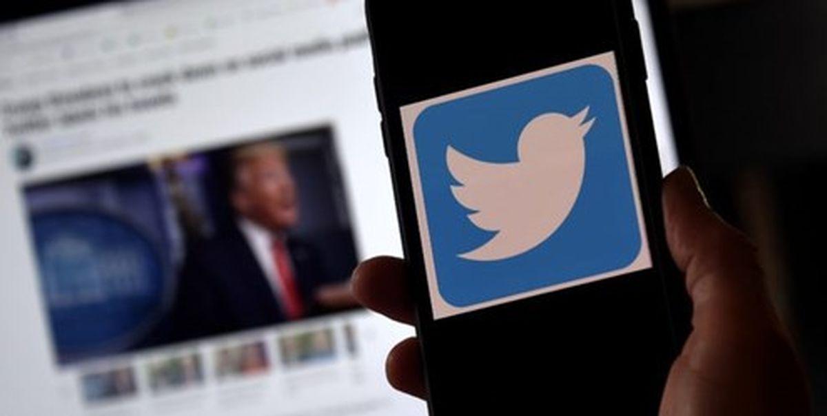 مُهر «ترویج خشونت» توئیتر بر روی پیام جنجالی ترامپ