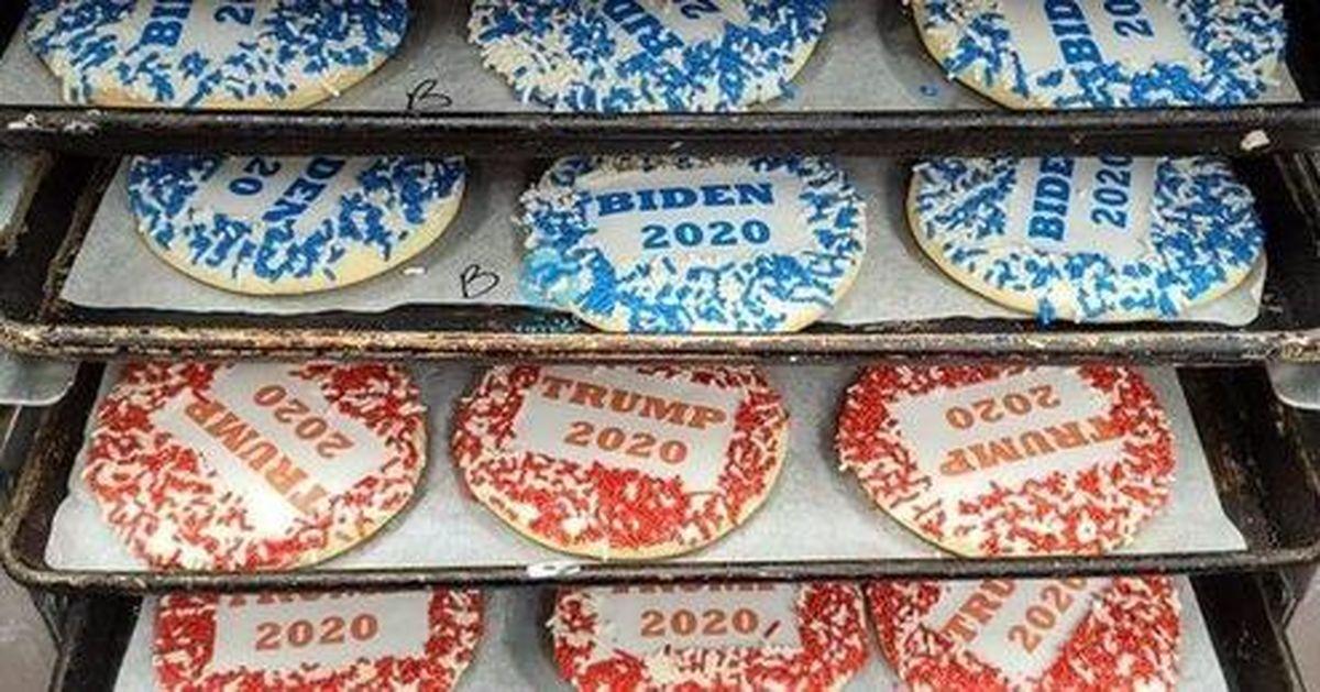 پیشبینی انتخابات آمریکا با شیرینی! +عکس