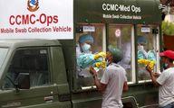 عکس: خودروی تست کرونا در نپال