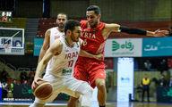 تصاویر جذاب از بازی تیم ملی بسکتبال ایران و سوریه