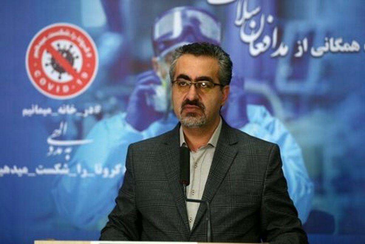آخرین آمار کرونا در ایران/۲۳۹۲ ابتلای جدید به کرونا
