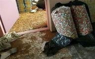 کشف ۹۰۰۰ سیگارت و مواد محترقه در مولوی
