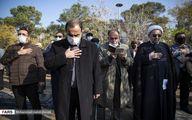 تصاویر: سیاسیون در مراسم تشییع پیکر نماینده سابق مجلس