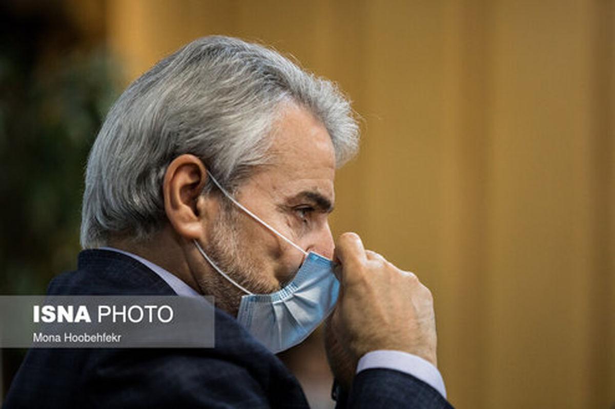 تصاویر: ماسک نوبخت در جلسه اقتصادی