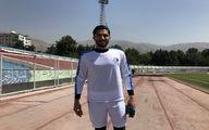 حضور انصاری و بازیکن تازهوارد استقلال در تمرین آبیپوشان (عکس)