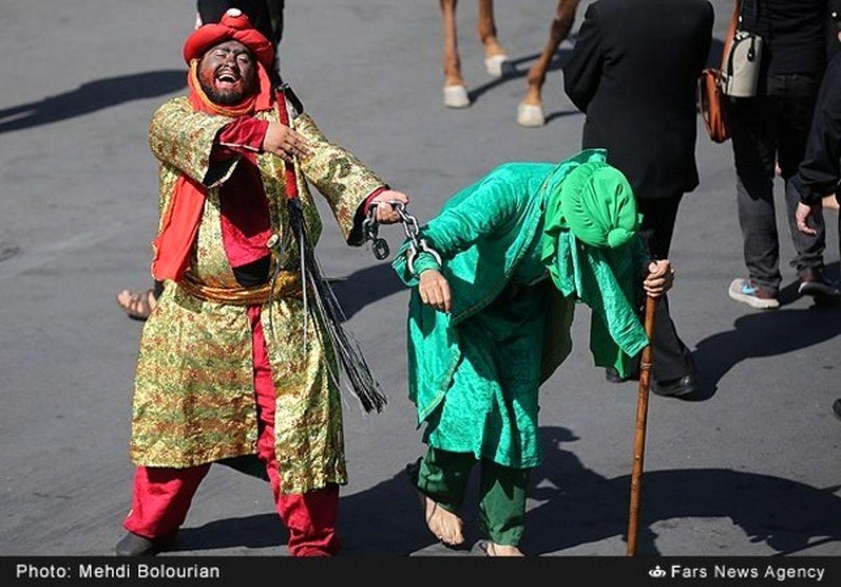 تصاویر: مراسم خیمه سوزان روز عاشورا در تهران