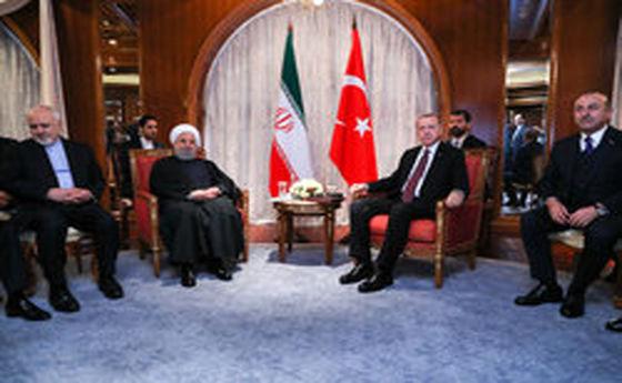 روحانی: تروریسم نیازمند مبارزه همگانی است/اردوغان: آماده همکاری تجاری هستیم