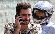 بازی بازیگر ترک در فیلم ایرانی +عکس