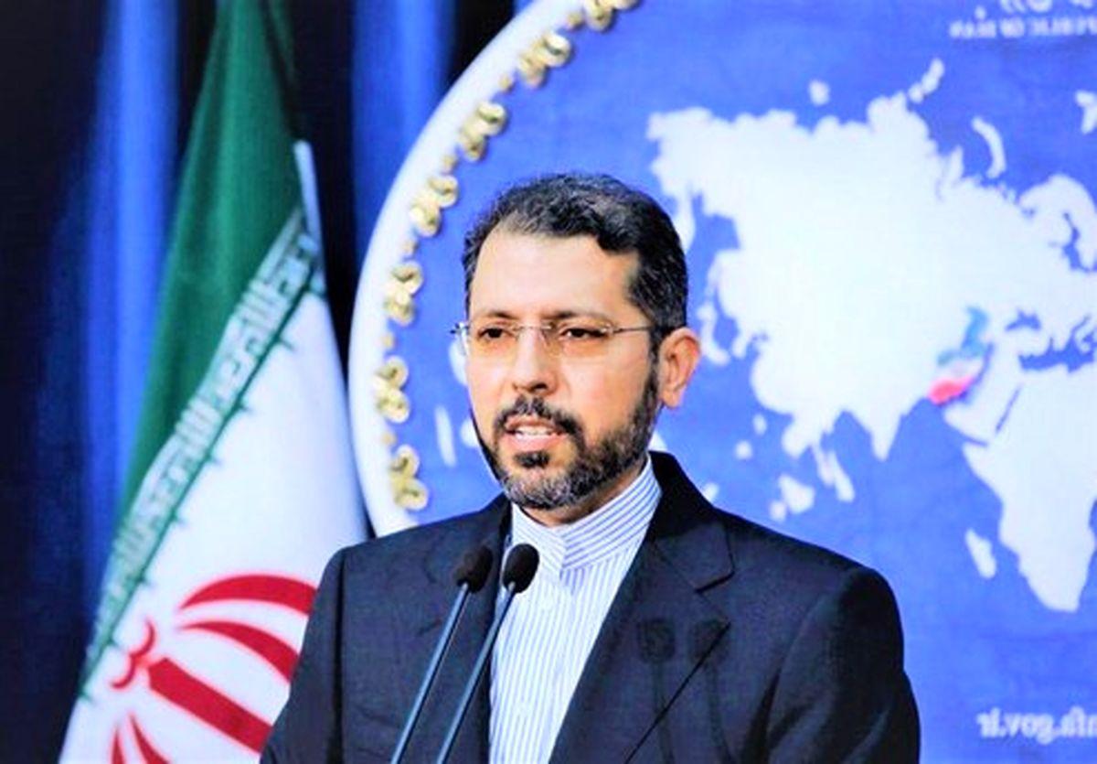 واکنش خطیب زاده به شلیک چند راکت به کابل و اصابت به سفارت ایران