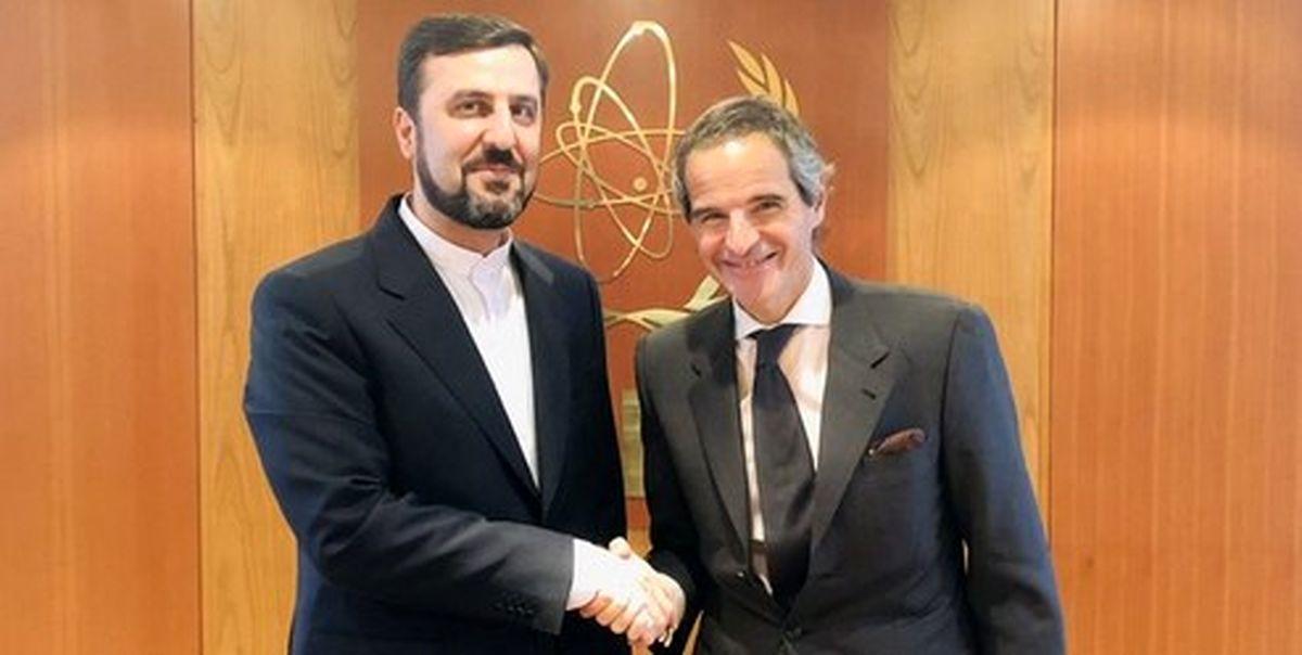 دیدار نماینده دائم ایران در آژانس با مدیرکل جدید